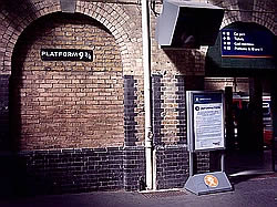 King's Cross Platform Nine and Three Quarters
