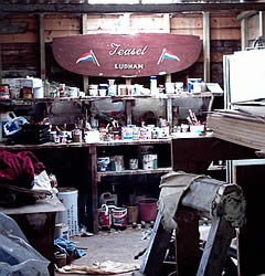 Boatbuilder's shed