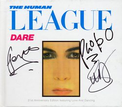 Dare 21st Anniversary Edition, signed