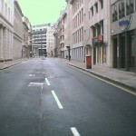 The City on a Saturday – deserted, so different from weekday mornings