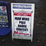 Man wins pole dance contest