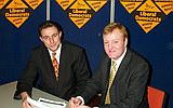 Andy Darley and Charles Kennedy