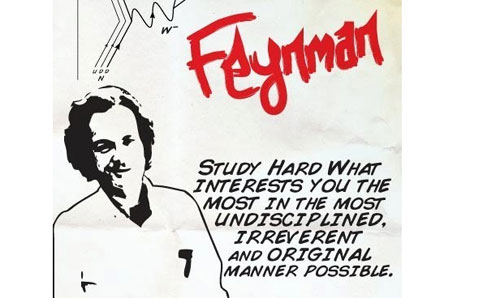Words of Wisdom: Feynman to the Rescue!