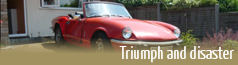 The Triumph Spitfire disaster section