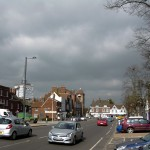Ominous clouds loomed...